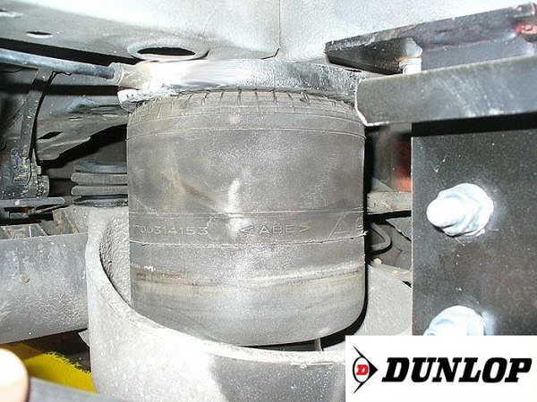 ( LF3) Ersatz- Luftbalg ( Luftfederbalg ) Dunlop 7700314153 (Renault Master Hinterachse) 2874489