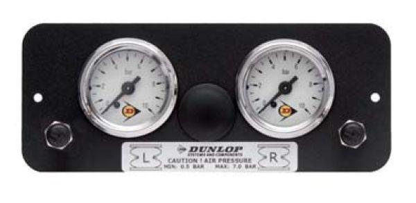 ( LF1) Manometerblende für Zweikreisanlage, universal, gerade 2884314