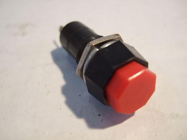 Druckschalter, rund, 18x40mm 2-polig, 250V1A, Push-ON, Push off 2884384