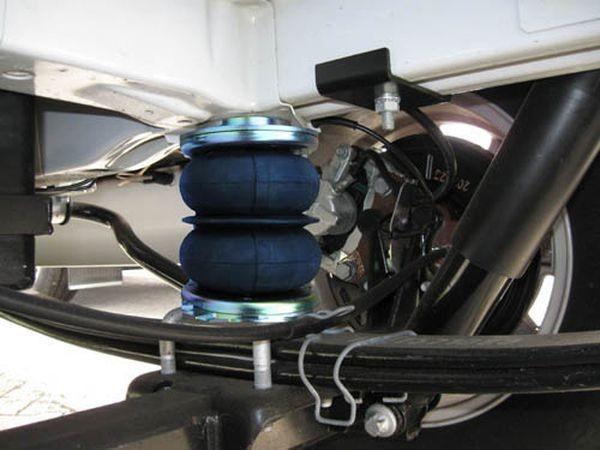 Peugeot Boxer Eurochassis X250 (2014-), Zusatz-Luftfederung 8 Zoll Zweikreis Doppelfaltenbalg- Anlage, syst. LF1B 2884457