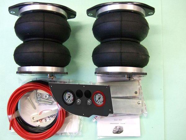 Citroen Jumper Eurochassis X250 (2014-), Zusatz-Luftfederung 8 Zoll Heavy Zweikreis Doppelfaltenbalg- Anlage, syst. LF1 2884424