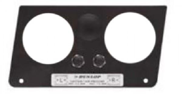 ( LF3) Manometerblende für Zweikreisanlage, VW Crafter / MAN TGE 2017- 2887461