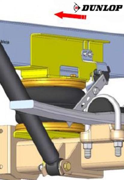 Mercedes Sprinter, Typ 211-314, Frontantrieb, Baujahr 2018-, Zusatz-Luftfederung 8 Zoll Doppelfaltenbalg- Anlage, syst. LF3- zzgl. Montagekosten bei uns im Haus. 2887480