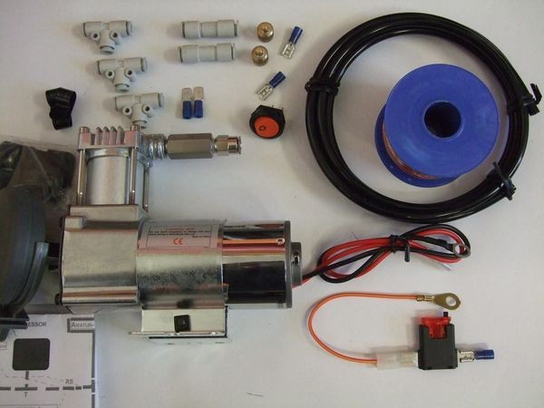 ( LF1A) Hochleistungskompressor Premium für Luftfederanlagen, 1/4 Zoll, 6,35 mm, 130/5 2866364