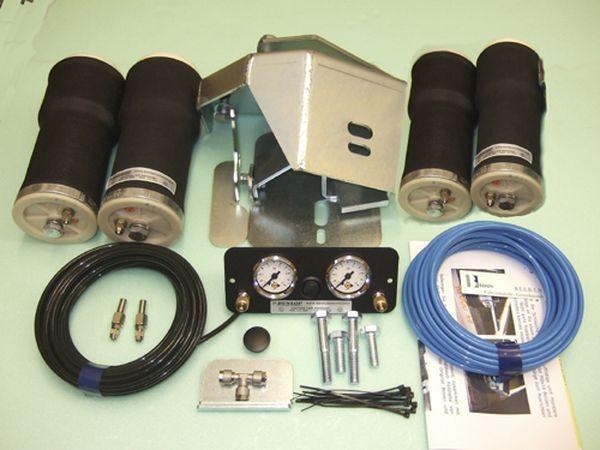 Luftfederung für ALKO ( AL-KO )- Chassis- 2002-2006_ Tandemachse, Scheibenbremse, Zweikreis Zusatz-Luftfederanlage, syst. LF3 2880977