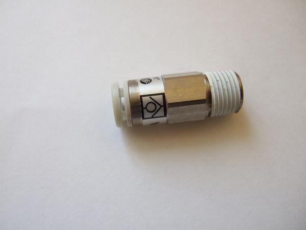 Rückschlagventil, 6,00 mm Luftanschluss, Gewinde 1/8 Zoll 2884349