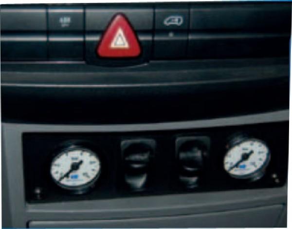 Mercedes Sprinter Bj. 2006-2018, Modelle 209-324 Radstand 3250mm, Zusatz-Luftfederung 8 Zoll Zweikreis Doppelfaltenbalg- Anlage, Semi Air Komfortset-Camp, syst. LF1 2884440