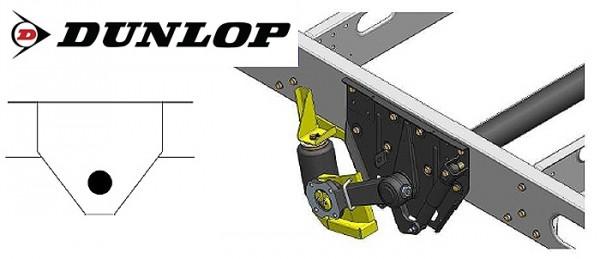 Zusatz-Luftfederung für das ALKO ( AL-KO ) - Chassis am Fiat 1994-2002