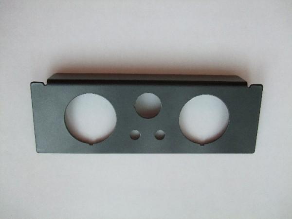 ( LF3) Manometerblende für Zweikreisanlage, Din Radioschacht 2876117