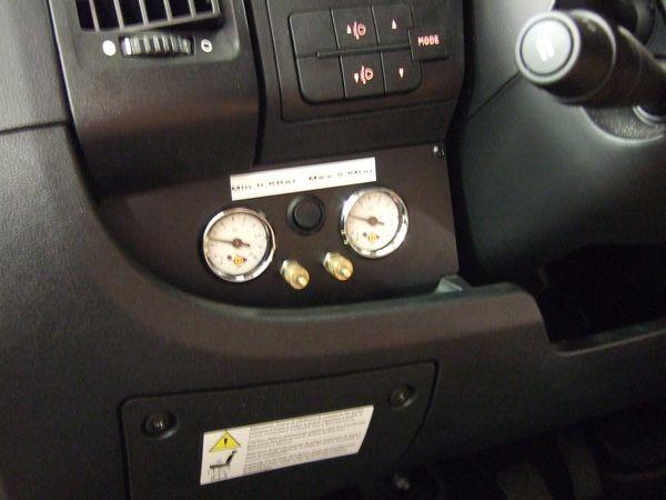 Manometerblende für Zweikreisanlage, Citroen/Fiat/Peugeot X250 2866316