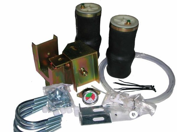 Citroen Jumper Eurochassis X250 (2006-2014), Zusatz-Luftfederung Rollbalg- Anlage, syst. LF2 2862374