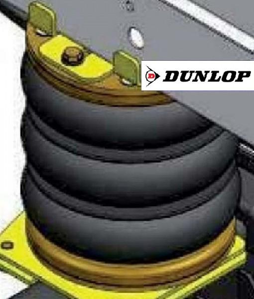 ( LF3) Ersatz- Luftbalg ( Luftfederbalg ) Dunlop 01608 Dreifaltenbalg 170/3 Standard 2876714