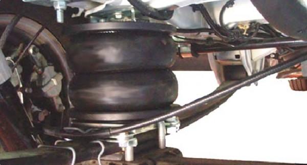 Peugeot Boxer Eurochassis X250 (2006-2014), Zusatz-Luftfederung 8 Zoll Zweikreis Doppelfaltenbalg- Anlage, Semi Air Basic-Plus, syst. LF1 2883527