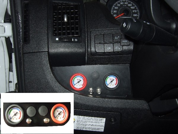 Fiat Ducato Eurochassis X250, intern X290 (2014-), Zusatz-Luftfederung 8 Zoll Zweikreis Doppelfaltenbalg- Anlage, Semi Air Basic-Plus, syst. LF1 2881464
