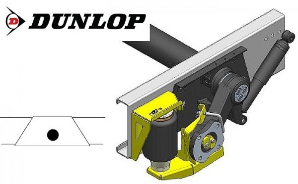 Zusatz-Luftfederung für das ALKO ( AL-KO ) Chassis am Fiat 1994-2002 als Nachrüstset