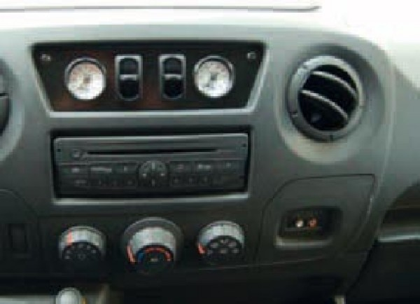 Nissan NV 400 III Bj. 2010-2014, Frontantrieb, Zusatz-Luftfederung 8 Zoll Zweikreis Doppelfaltenbalg- Anlage, Semi Air Komfortset-Camp, syst. LF1 2883666