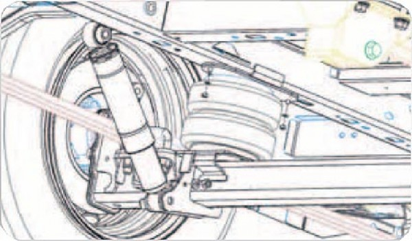 MAN TGE 5t, Bj. 2017-, Frontantrieb, Zusatz-Luftfederung 8 Zoll Zweikreis Doppelfaltenbalg- Anlage, Semi Air Komfortset-LCV, syst. LF1 2884433