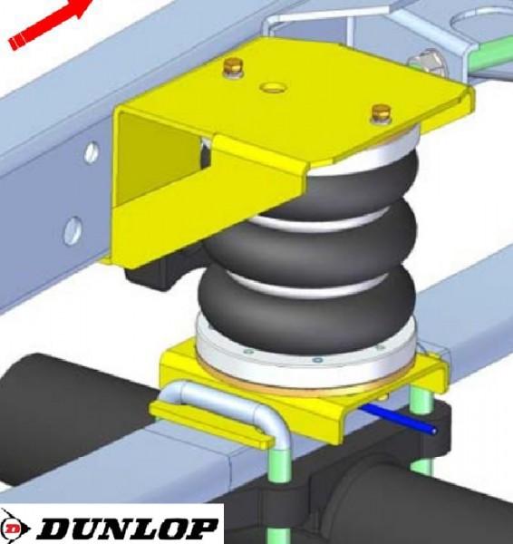 Iveco Daily L&S Bj. 2014-, Zusatz-Luftfederung 8 Zoll Zweikreis Doppelfaltenbalg- Anlage, syst. LF3- zzgl. Montagekosten bei uns im Haus. 2887591