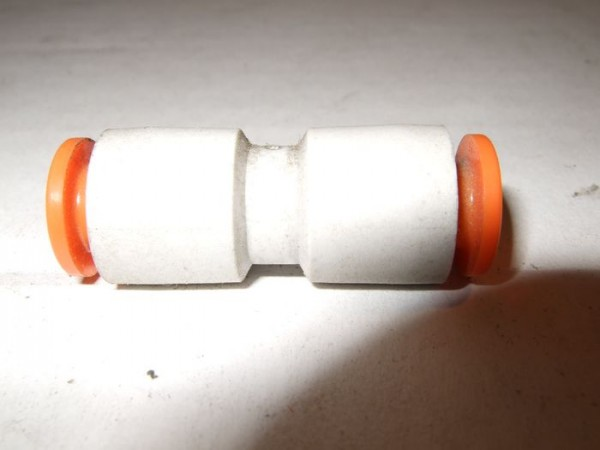 Stossverbinder, gerade, 1/4 Zoll, 6,35 mm 2866392