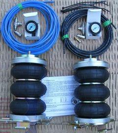Citroen Jumper Eurochassis 230 (1994-2001), Zusatz-Luftfederung 6 Zoll Zweikreis Faltenbalg- Anlage, syst. LF1B 2862590