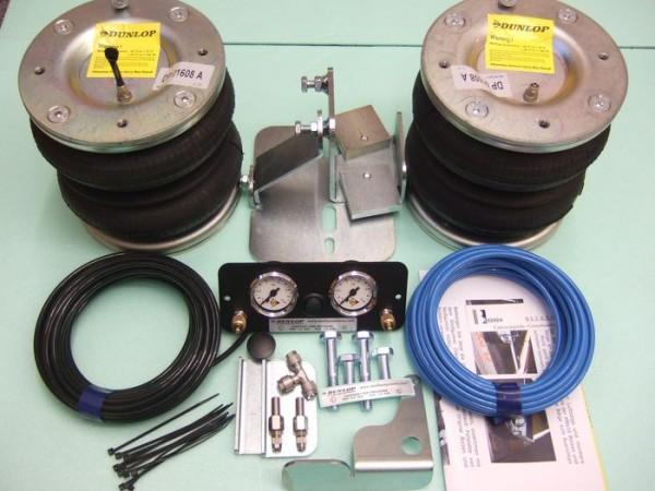 Mercedes Sprinter Bj. 1995- 2006, Modelle 208-316 ohne ABS, Zusatz-Luftfederung 8 Zoll Zweikreis Doppelfaltenbalg- Anlage, syst. LF3 2883742